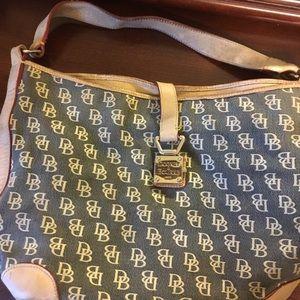 Dooney & Burke used purse nice hardware